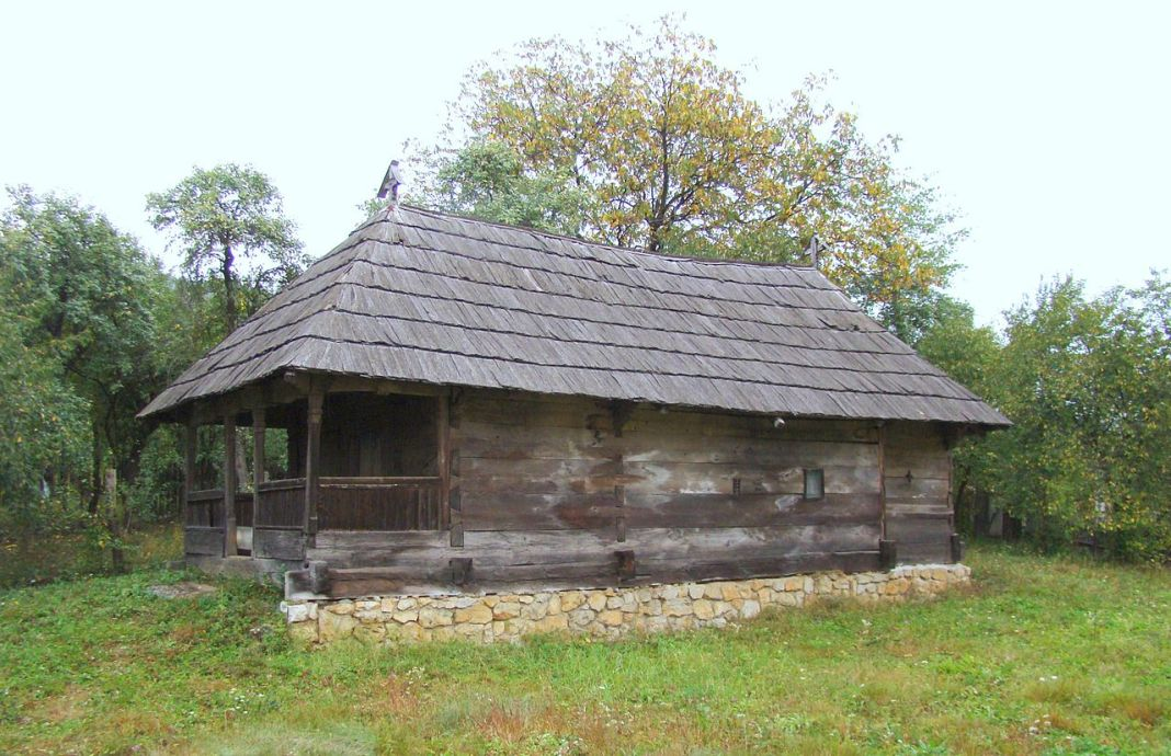 Biserica din lemn din Pocruia