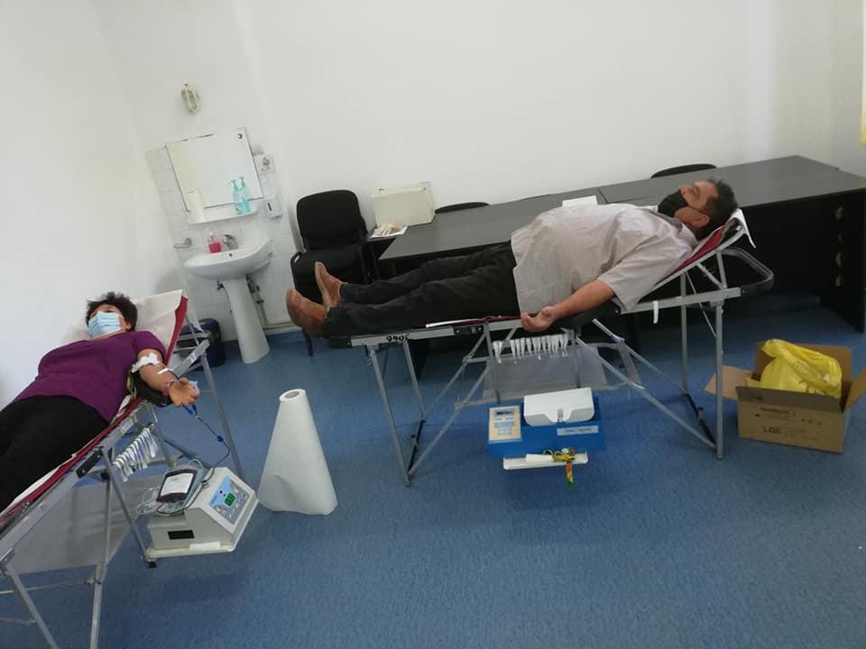 După 7 acțiuni, s-au colectat 197 pungi de sânge