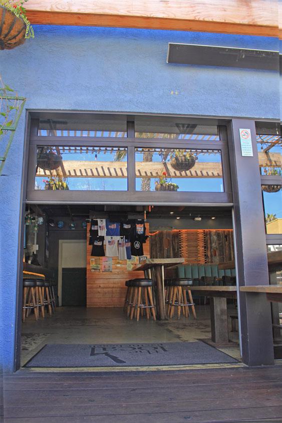 bar restaurant doors garage doors