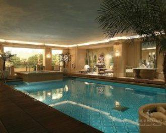 Les plus belles piscines d'hôtels à Paris Georges-v