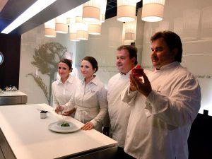La chef étoilée Anne-Sophie Pic et le pâtissier Pierre Hermé entrent au Musée Grévin