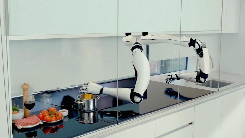 un robot qui fait la cuisine comme un vrai chef ge rh expert. Black Bedroom Furniture Sets. Home Design Ideas