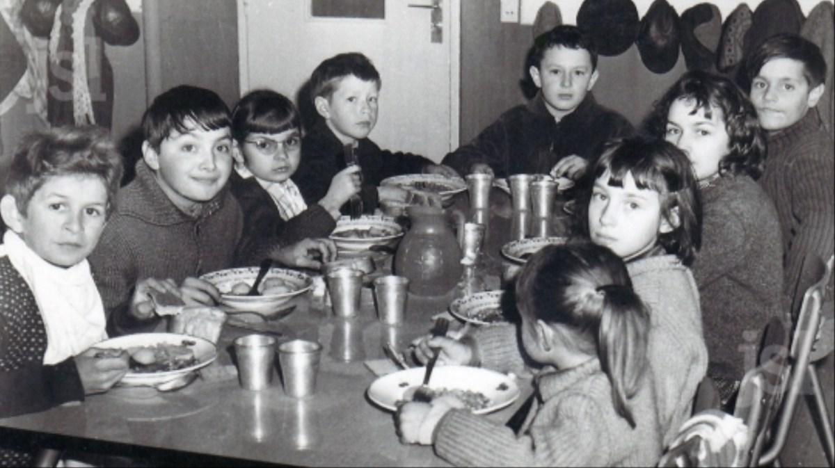 Quand les enfants buvaient du pinard à la cantine
