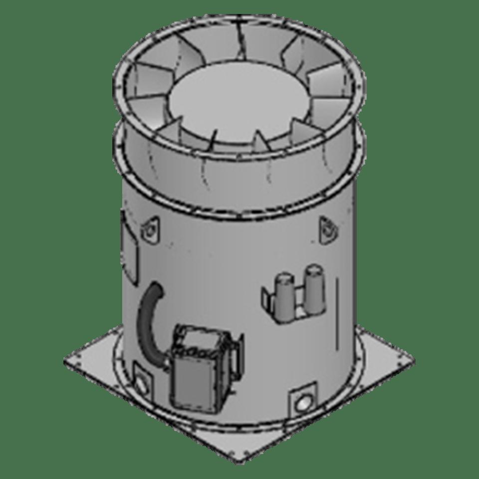 direct drive ventilation fan upgrade