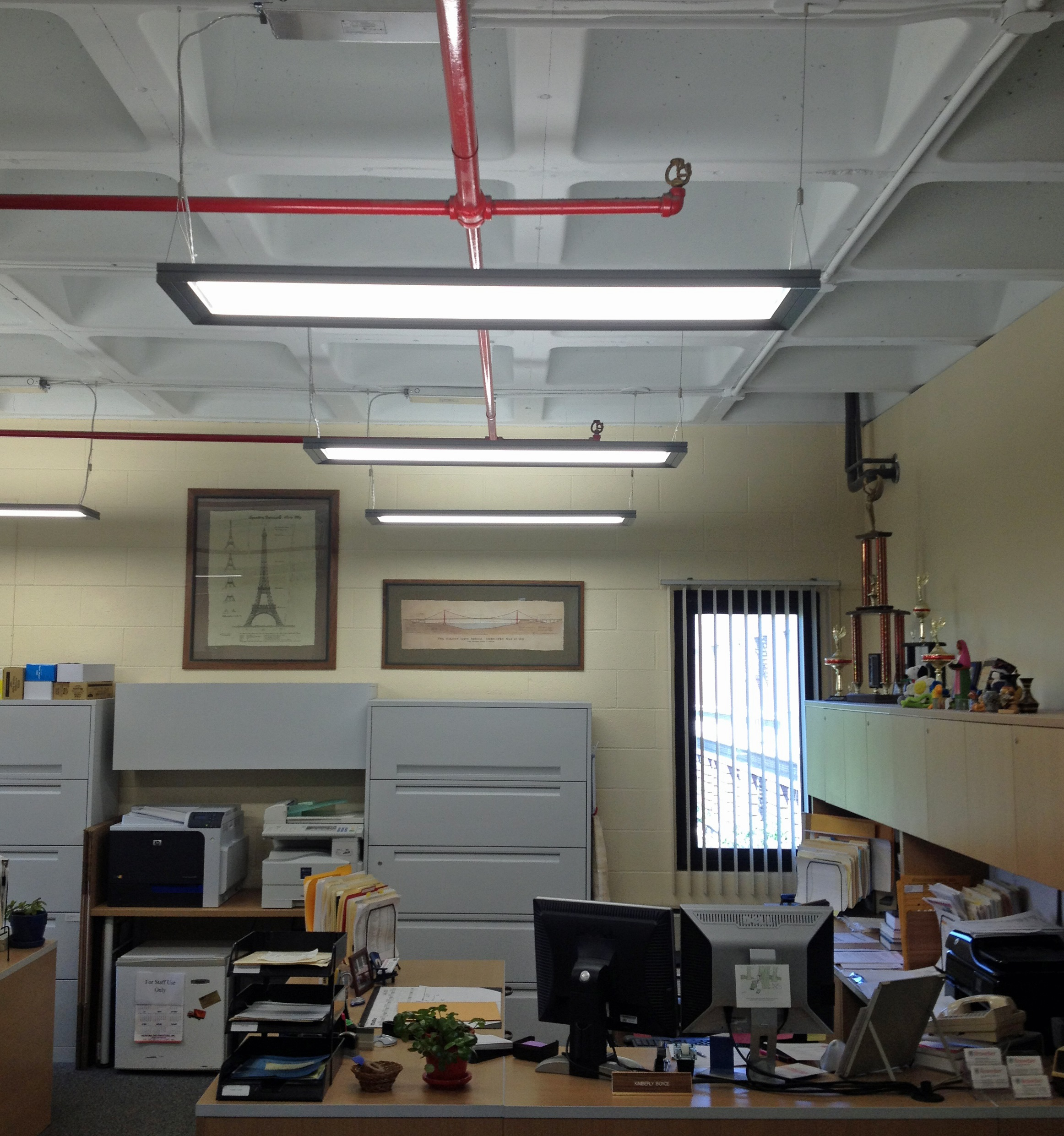 ge s lumination led lighting fixtures