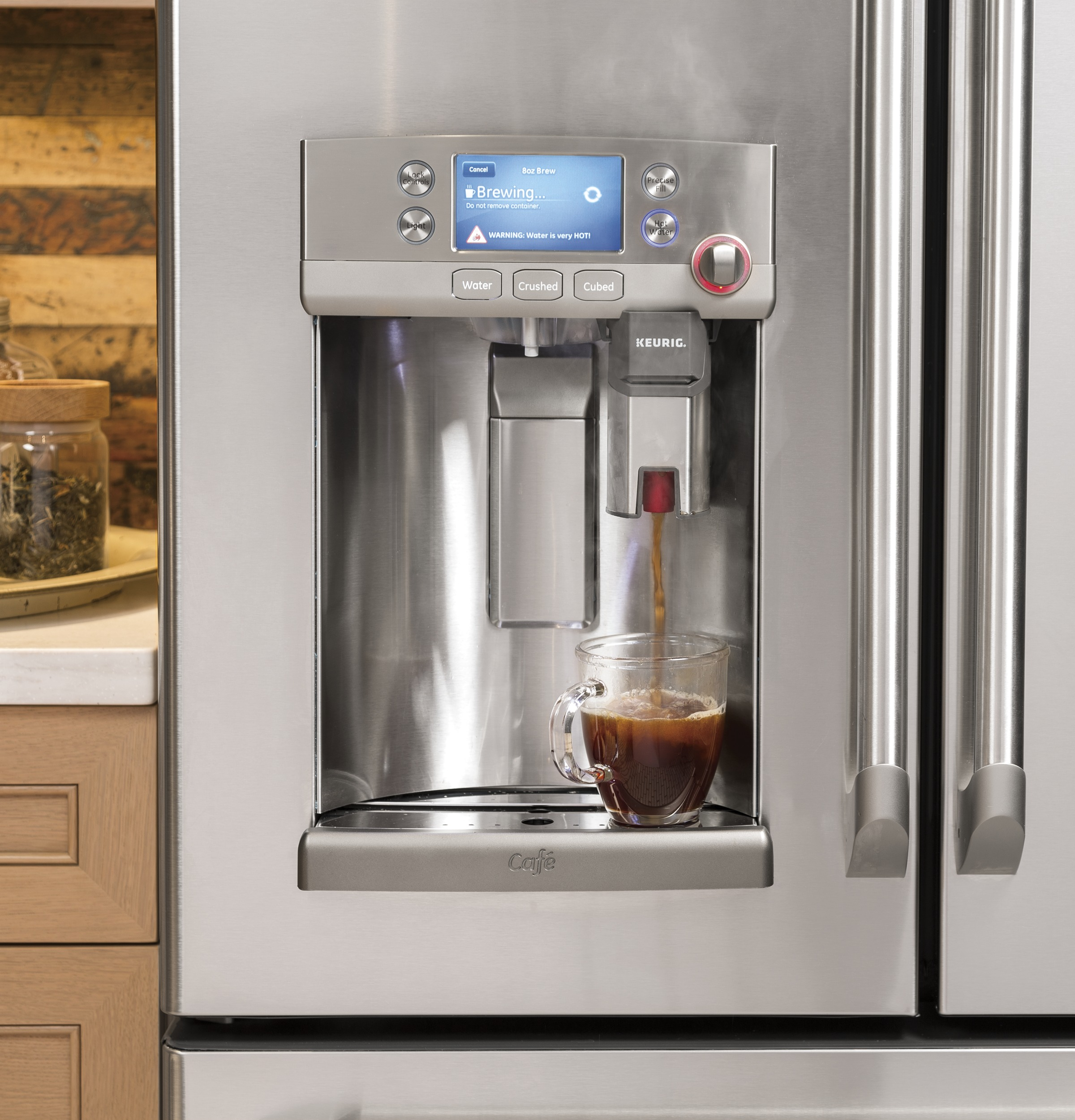 ge cafe series refrigerator with