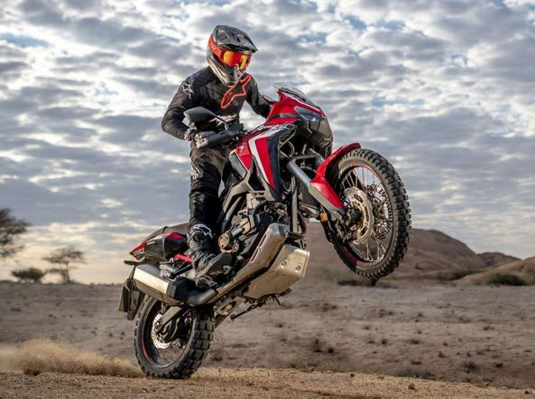 The Honda Africa Twin, heir to the legendary eighties motorcycle: starts at 14,990 euros ed