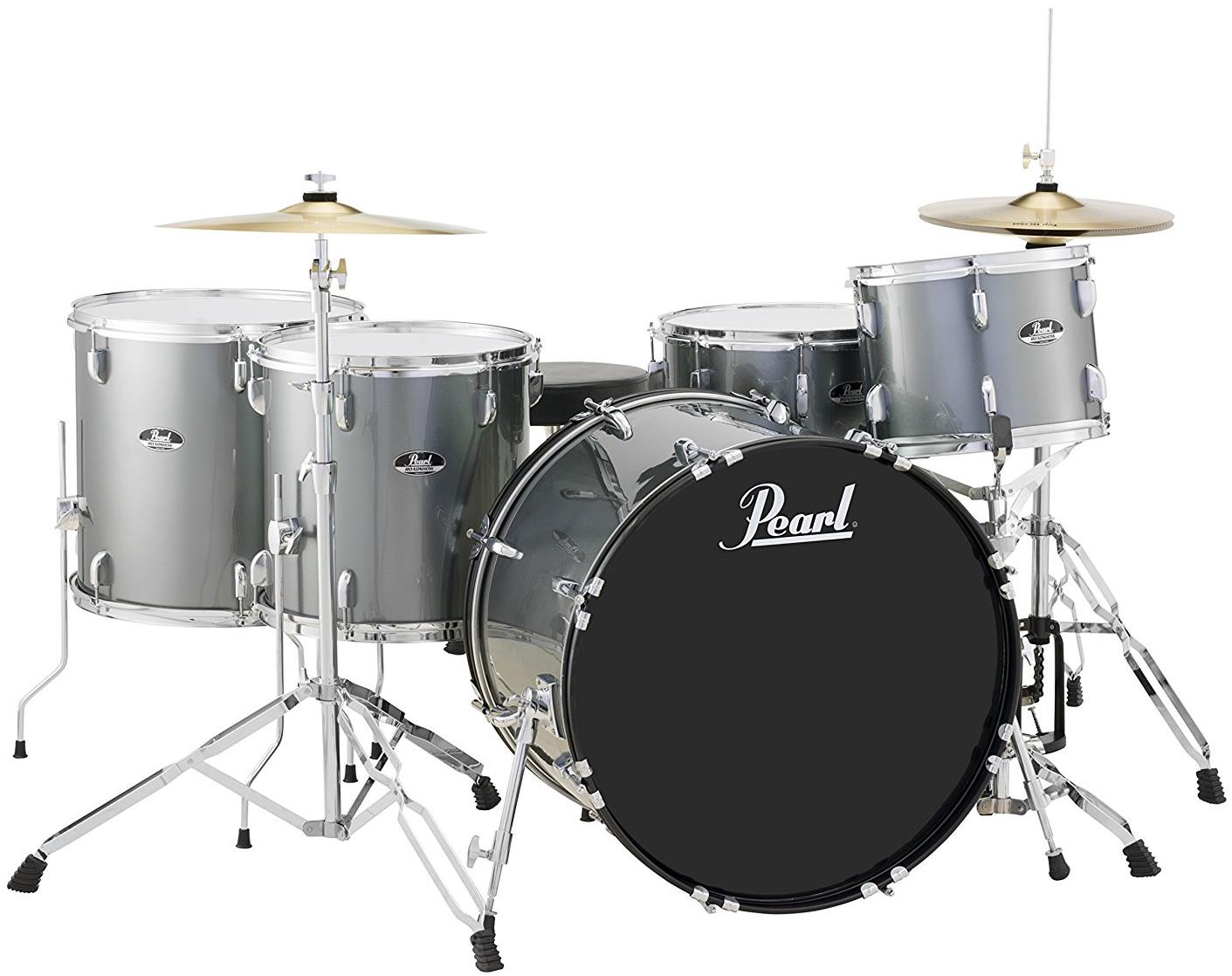 The Best Beginner Drum Sets    360 to  730   2018   Gearank Pearl Roadshow RS525WFC 5 Piece Drum Set