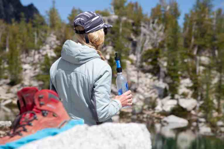 Sawyer Mini Water Filter Review bottle