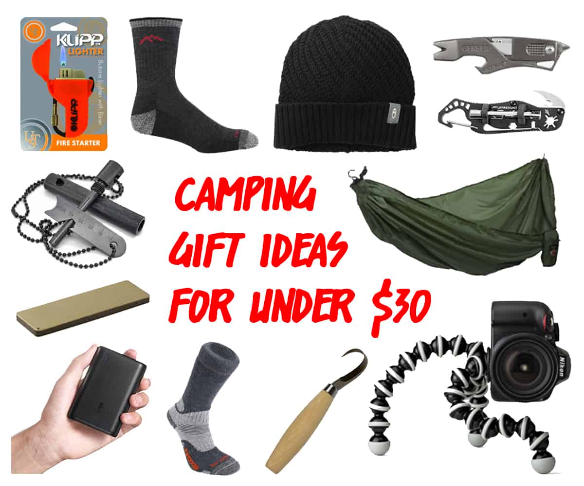 10 Genius Camping Gift Ideas Under $30
