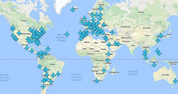 All the Wifi Passwords for Airports Around the World