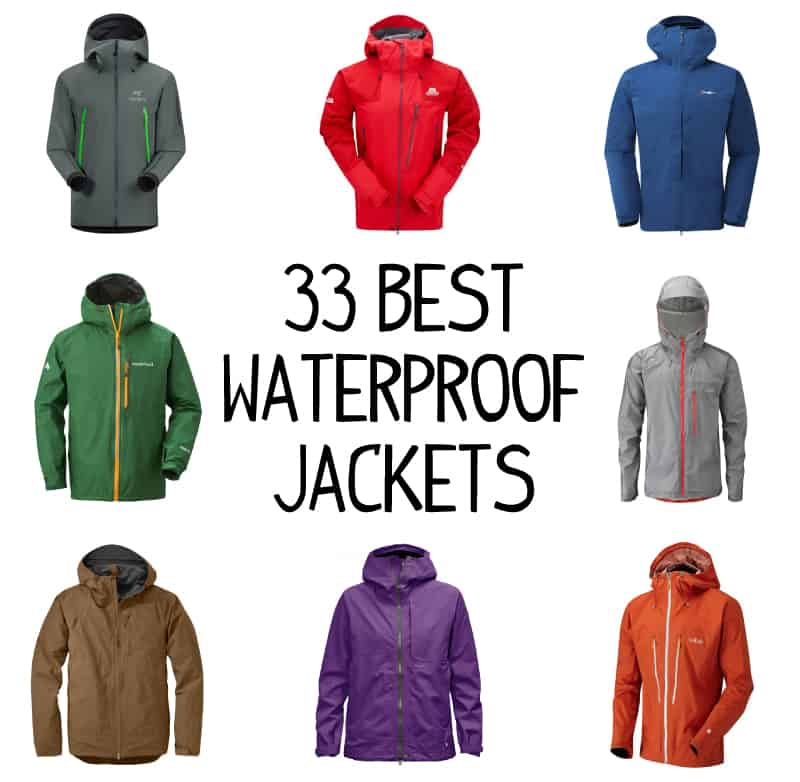 33 Best Waterproof Jackets For Hiking and Backpacking
