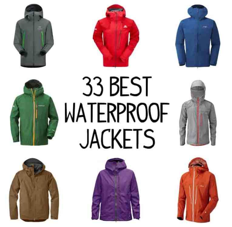 best waterproof jackets for hiking