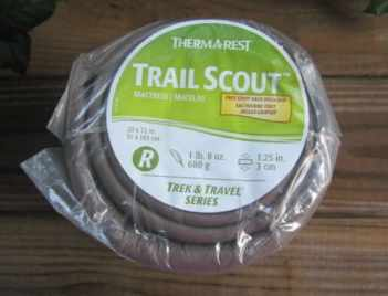 Thermarest Trail Scout Review