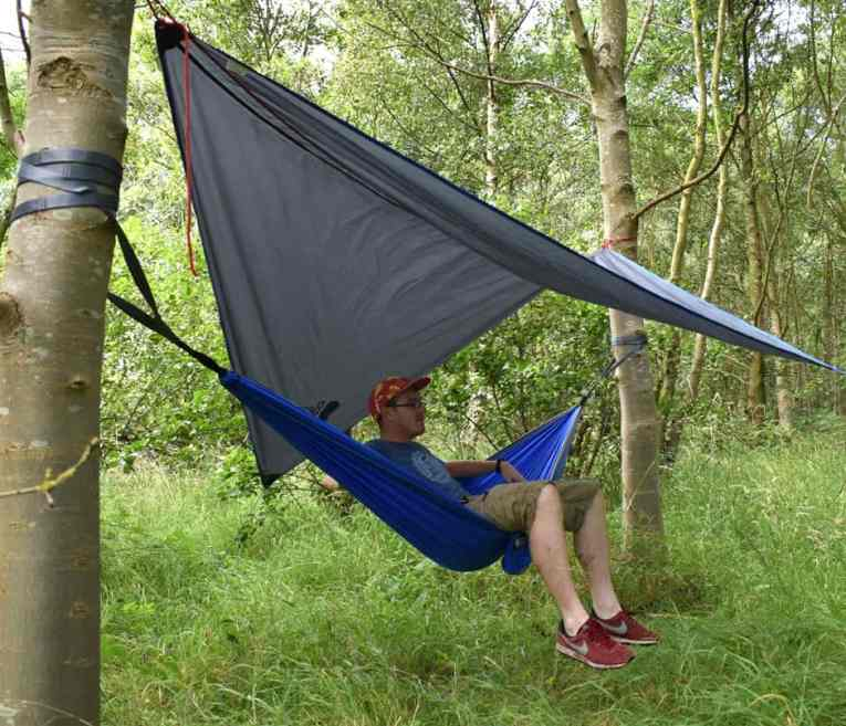 Bear Butts Double Hammock Review Sitting