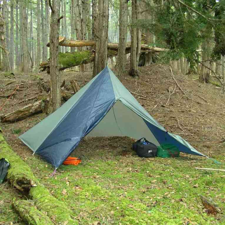 How to reduce pack weight by changing shelters