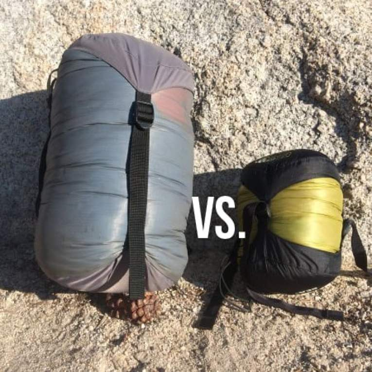 How to reduce pack weight with lighter insulation