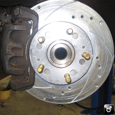 New rotors to stop Wendy after she clicks off that 10 second quarter!