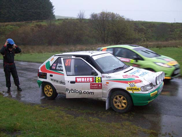 Which rally car has more character?