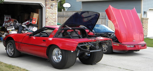 Mark Selig's 1990 Corvette Project