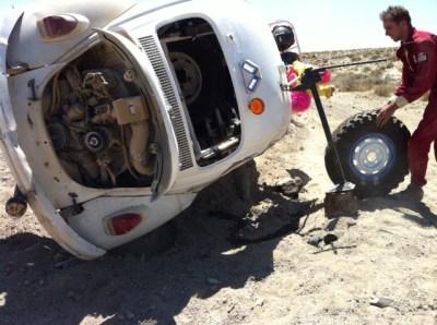 Desert Dingo rolled