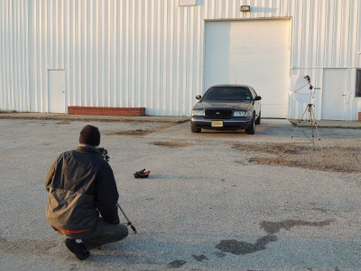 Jake had a buddy shoot the car for us