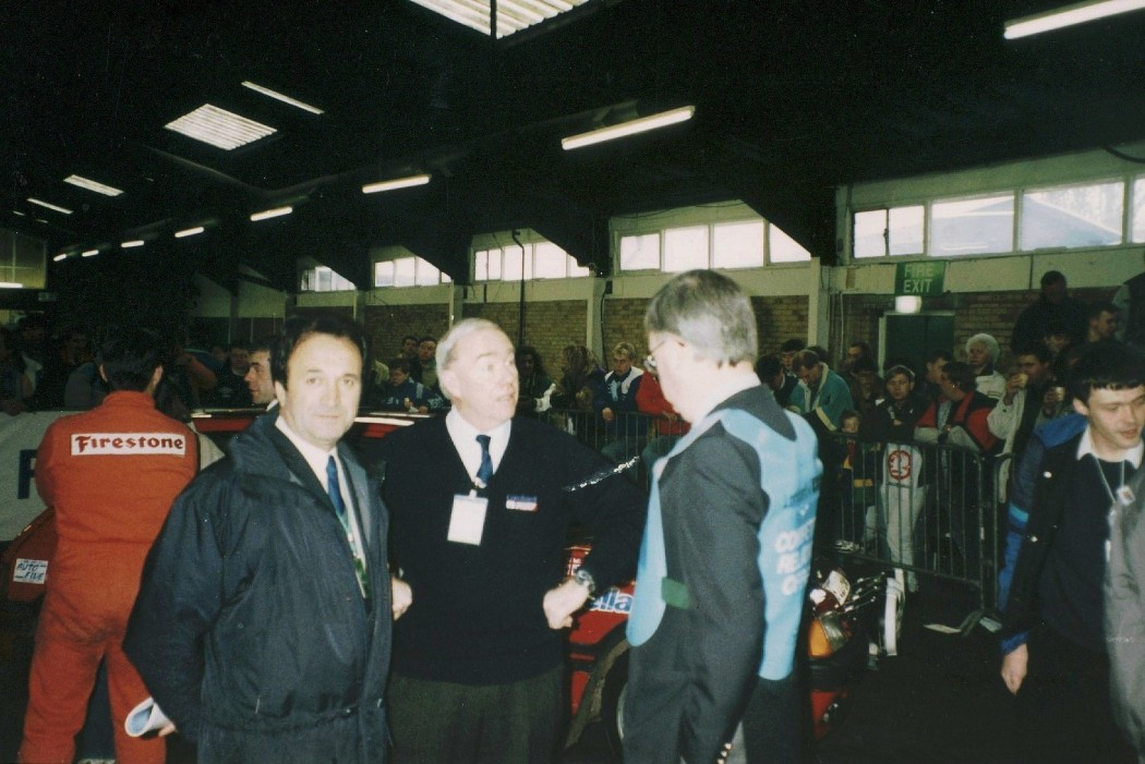 Scrutineering Lombard RAC 1988