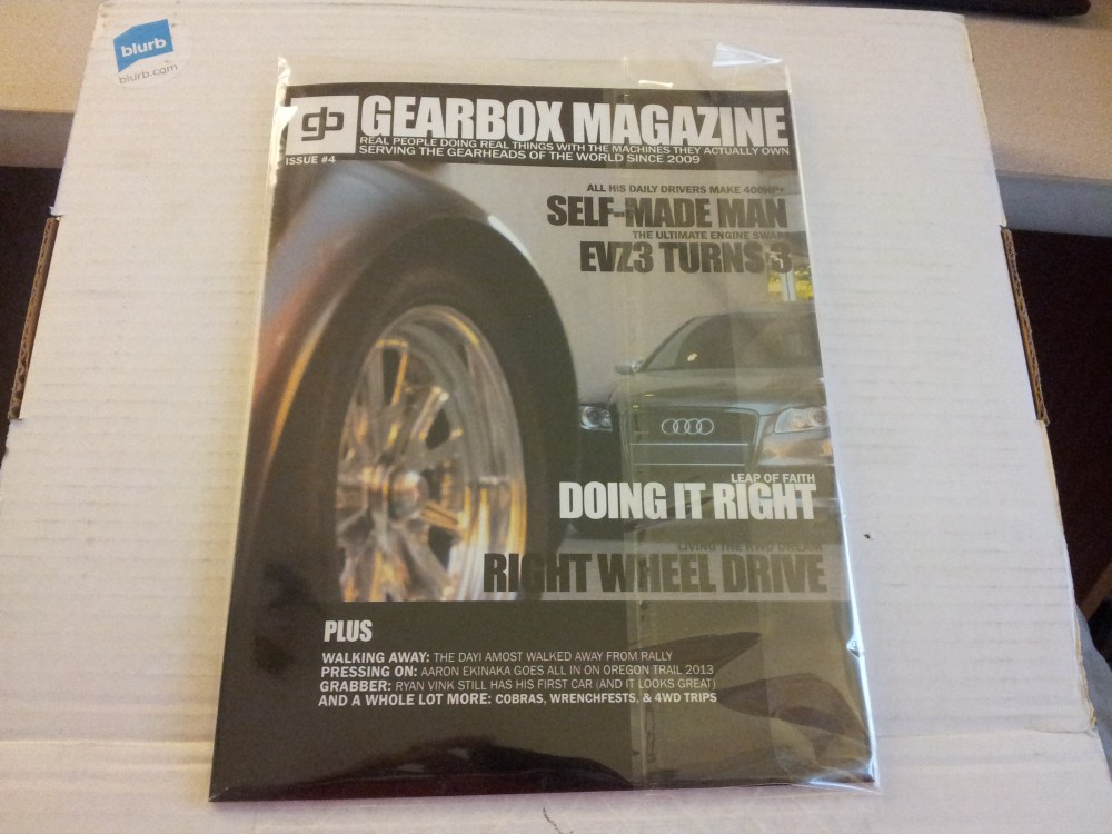 PRINTED ISSUES OF GEARBOX