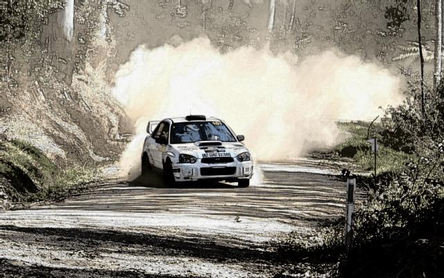 Peter Dunn – WRC Australia Flat Stick