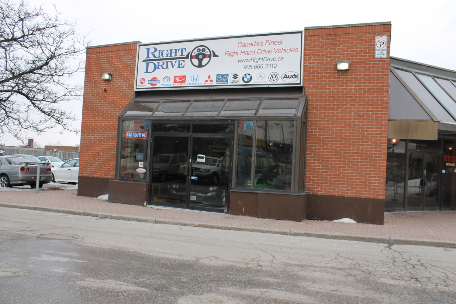 RightDrive HQ in Toronto. I already know I could spend all day here.