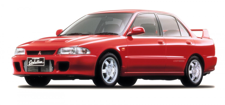 1992 Mitsubishi Lancer Evolution, aka: Evo I
