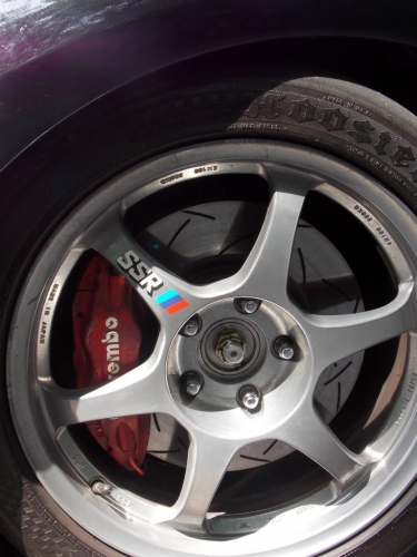 Tavorious upgraded to Evo brakes and rotors.
