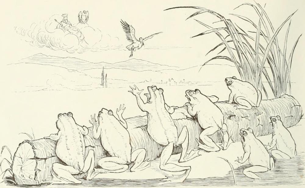 aesop frogs