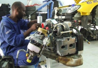 subaru rally engine