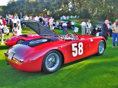 An Alfa race car. Credit: Harvey Sherman.
