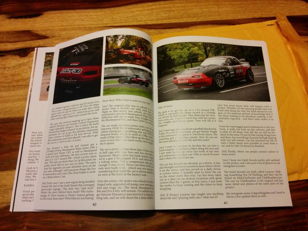 A peek inside issue 0301.