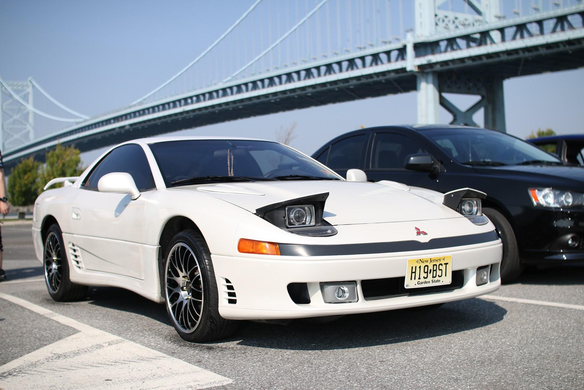 white MItsubishi 3000GT