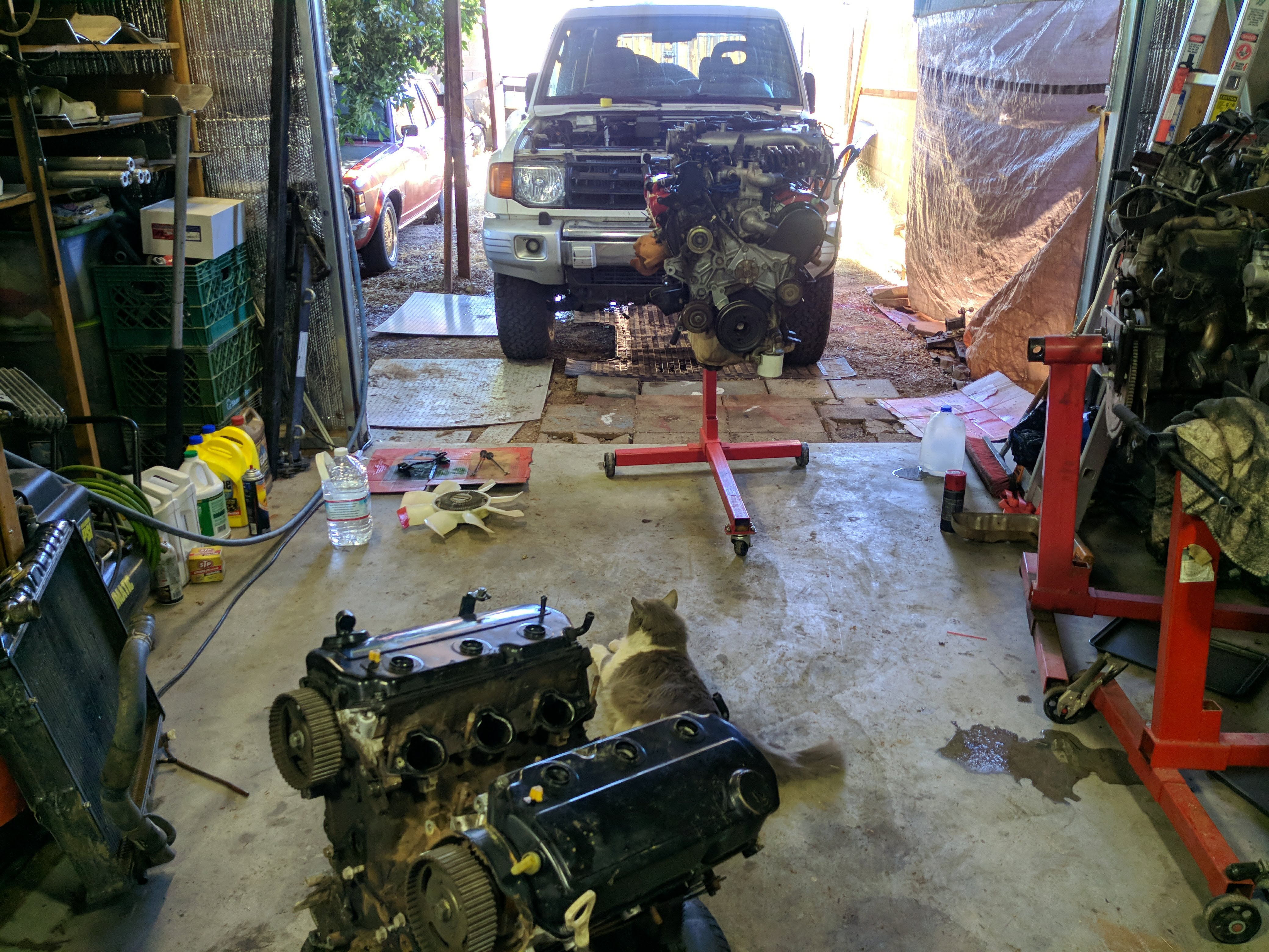 Old engine will be rebuilt.