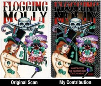 "Flogging Molly - Aaron Coleman & Myself - 22""x34"" 2011"