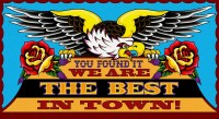 Shopfront Banner - Eagle - We Are The Best
