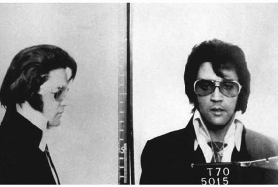 Elvis Presley Arrested