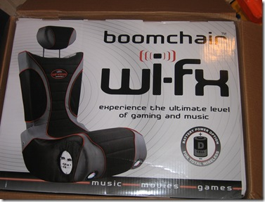 Review:  The Wi-FX Boomchair  Review:  The Wi-FX Boomchair  Review:  The Wi-FX Boomchair