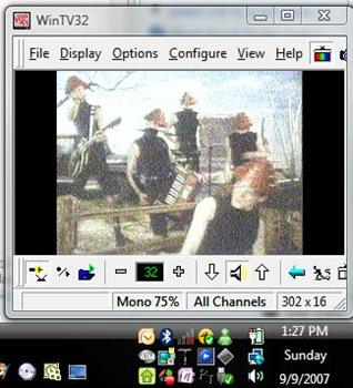 WinTV32 Analog