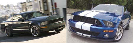 Ford Shelby GT500 and Bullitt Mustangs: Pony Power
