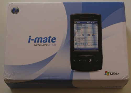 The i-mate Ultimate 6150 Unboxed and Discussed