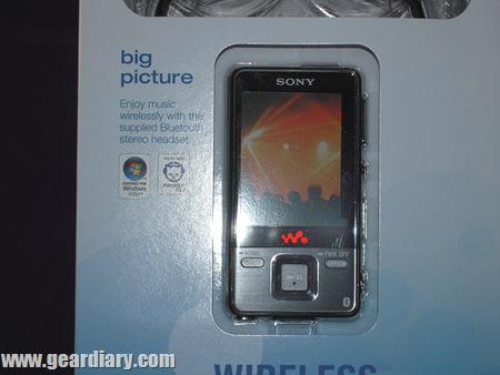 Sony Walkman Bluetooth