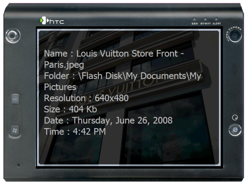 Photo Viewing Made Easy - Review of iWindowsMobile EyePhoto