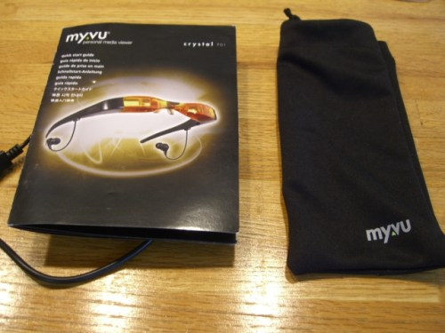 Review: Myvu Crystal 701 Personal Media Viewer