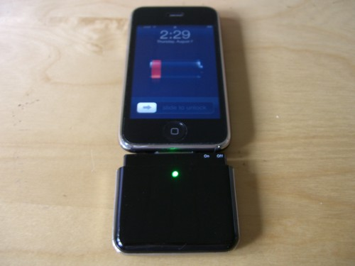 Attached To An iPhone 3G