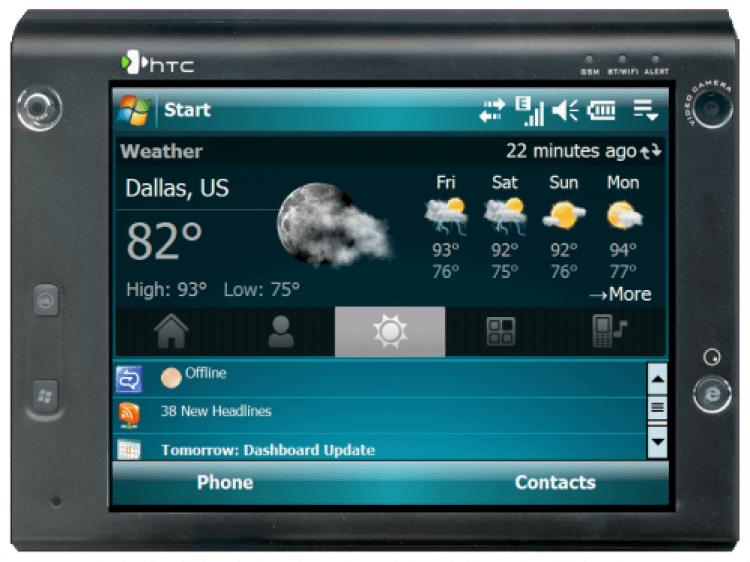 HTC Advantage X7510 Review Part 2